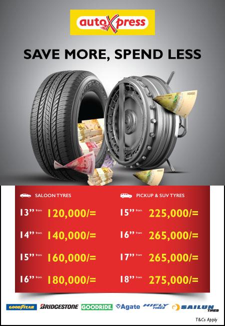 AutoXpress Uganda Tyre Mania Promotion